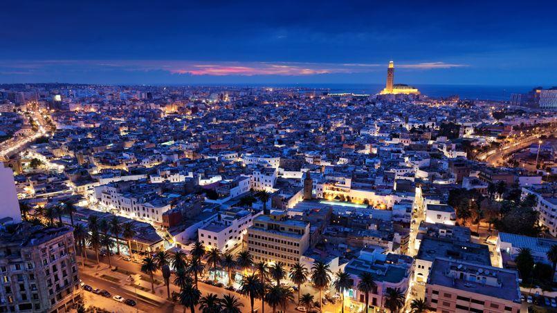 MAROC Casablanca vue panoramique