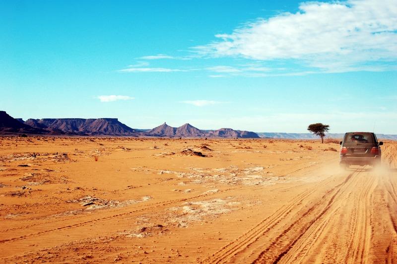 voyager en voiture vers l'afrique