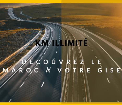 Profitez du km illimité en voitures de location à Agadir