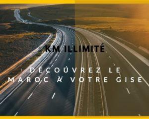 Réserver une location voiture à Agadir avec option Km illimité